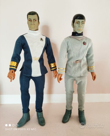 Mego 12 vintage star Trek, no big jim , star wars,