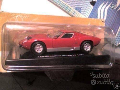 Lamborghini miura SV modellino 1:43 in scatola