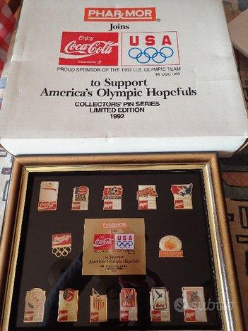 Pins coca cola 1992