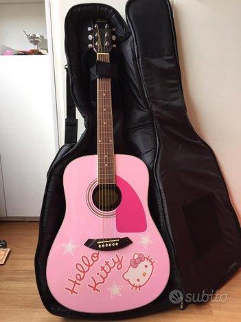 Chitarra Acustica Fender Squier Hello Kitty