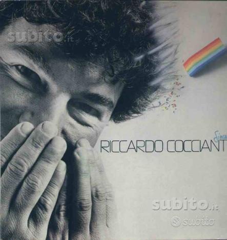 Riccardo cocciante - sincerita' lp