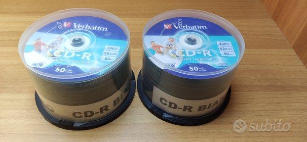 97 CD-R bianchi stampabili per masterizzatore