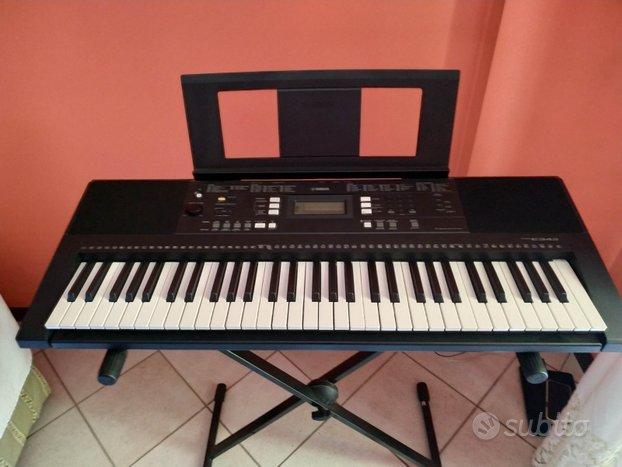 Tastiera Yamaha PSR-E343+cavalletto