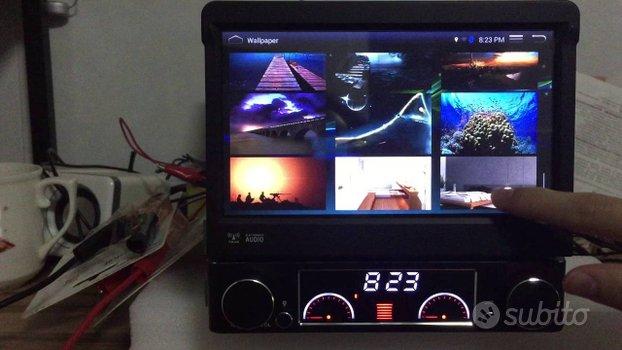Autoradio navigatore 1 din android wifi h3g