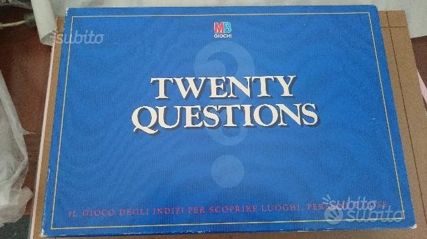 Gioco da tavolo mb giochi vintage twenty question