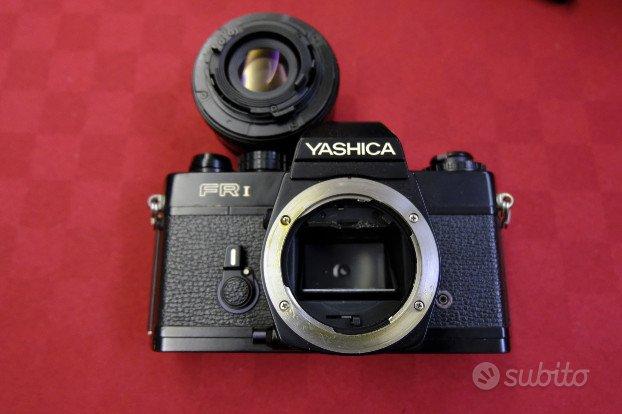 Yashica fr1 fotocamera reflex analogica obiettivi