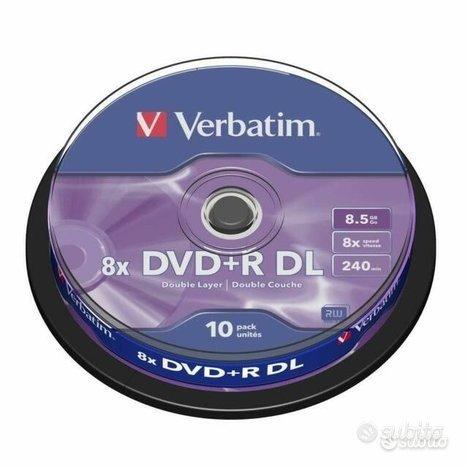 DVD R Dual Layer cake 10pz