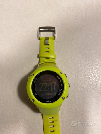 Suunto Ambit3 Run HR Lime con fascia cardio
