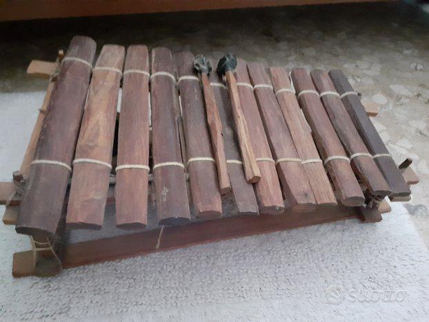 Balafon Xilofono africano artigianale