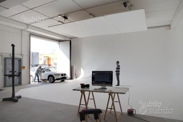 Noleggio studio fotografico grandi dimensioni