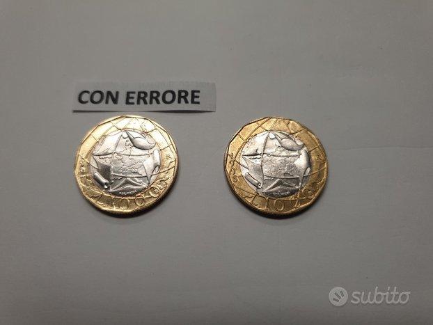 1000 LIRE DEL 1997 - con errore - Originale e Rara