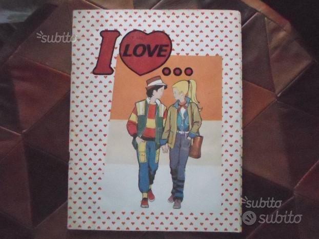 Album figurine I love . Edizione Flash 1984