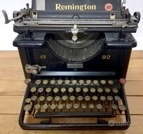 Macchina da scrivere Remington mod. 12 92 USA