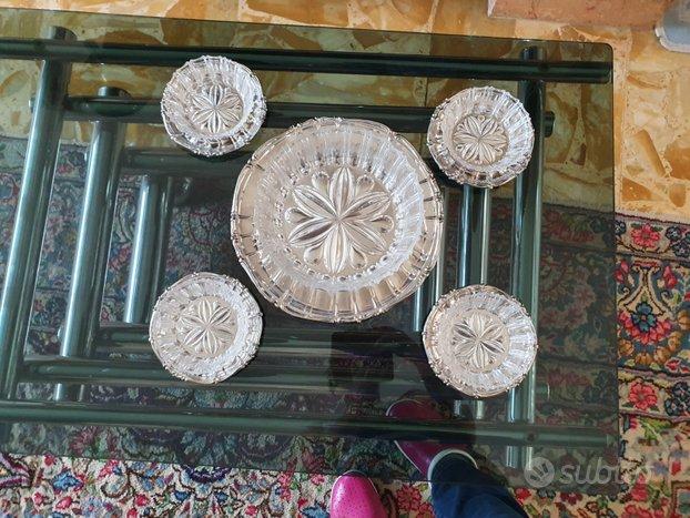 Antiche coppette in cristallo