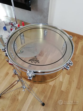 Timbales PRESTIGE LP PERCUSSION SOLID BRASS 13/14
