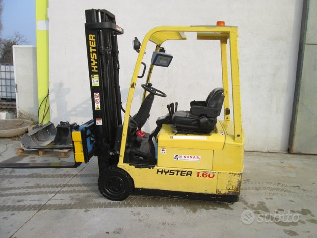 Hyster con pesa J 1.60XMT