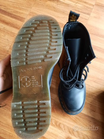 Dr. Martens tg 36 stivale nero smooth