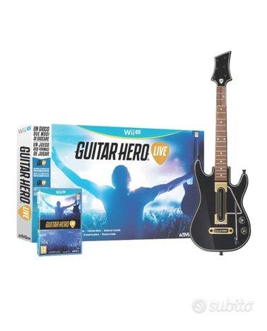 Guitar Hero live WiiU Wii U nuovo