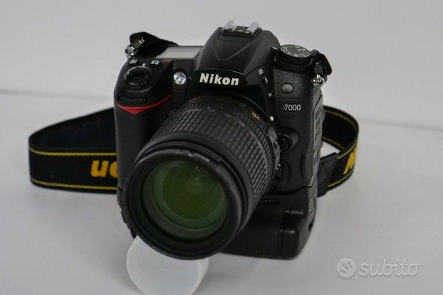 Nikon D7000 + 18/105 VR + accessori