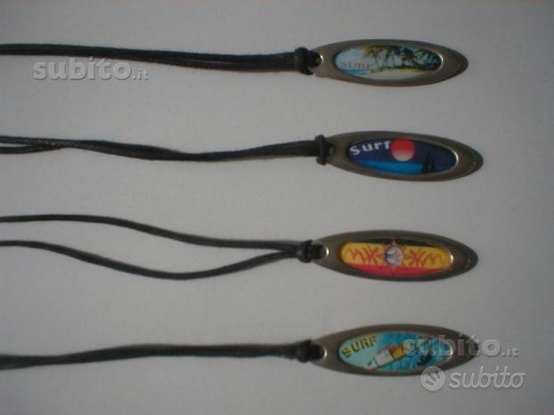 Quattro ciondoli surf