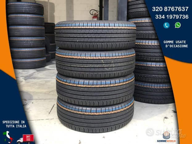 4 gomme 215 60 17. Continental ecocontact 95%