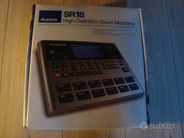 Drum Machine Alesis SR-18 Nuova