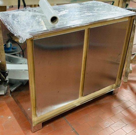 Cucina inox teak interno o esterno alpes cucinino for Subito it arredamenti e casalinghi napoli
