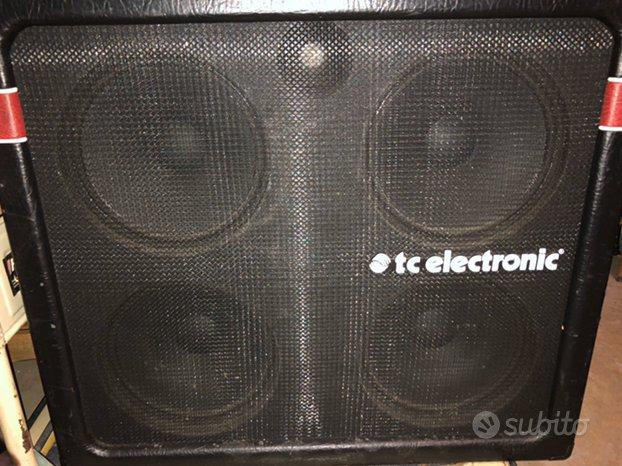 Cassa K410 4x10 TC Electronic 600W