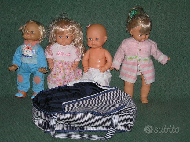 4 bambole Cicciobello Fiorella Famosa Migliorati