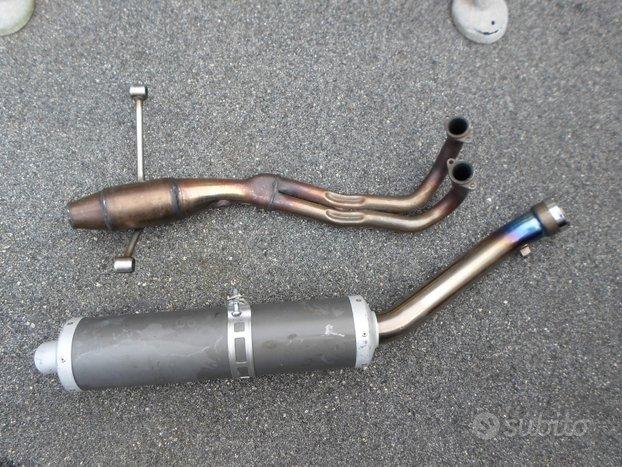Scarico BMW c 650 Sport e Yamaha R 1 come nuovi