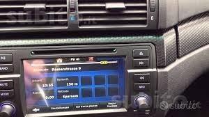 Autoradio navigatore bmw e46 m3 DVD USB IPOD TV