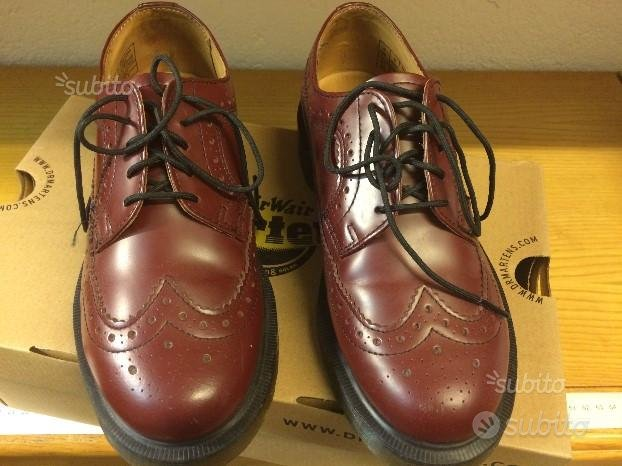Dr Martens mod 3989 Cherry Red Rouge mis 37