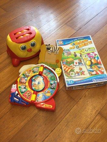 Set giochi per bambini + piccolo omaggio