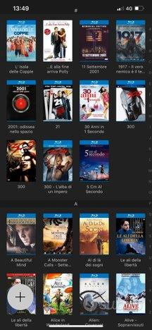 Lotto di film bluray - 4k - dvd - uhd oltre 400