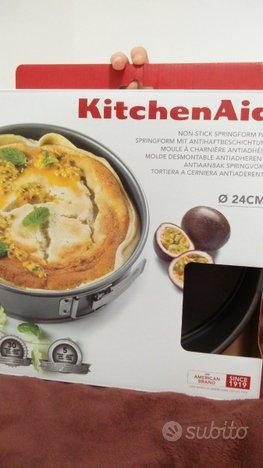 Tortiera con cerniera apribile KitchenAid 24cm,KitchenAid
