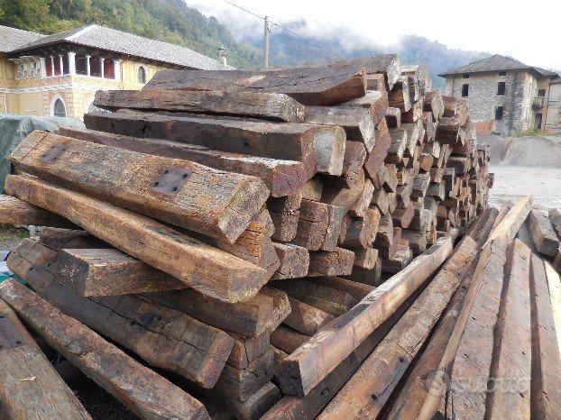 Traversine in legno H 180 cm