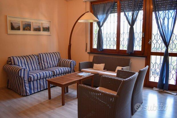 Cogoleto appartamento con giardino comodo al mare