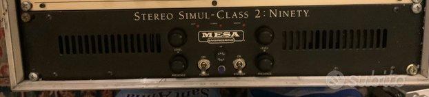 Mesa stereo simul class 2 ninety
