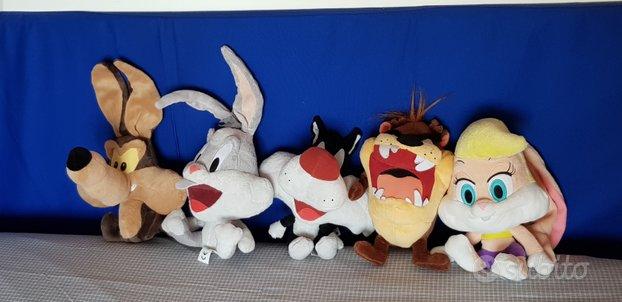 5 peluches Looney Tunes