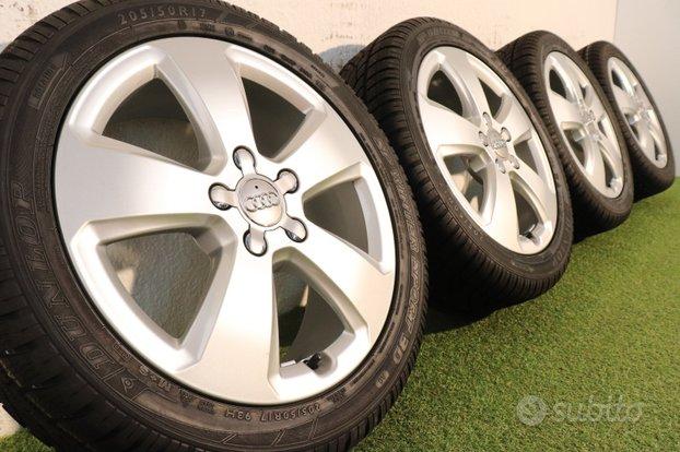 Cerchi Audi A3 17 Originali 205 50 17 Dunlop NUOVO