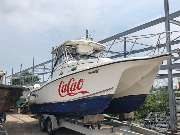 Catamarano pesca ProSport 2860