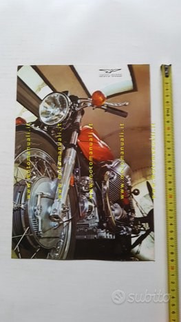 MOTO GUZZI V7 Sport 750 1973 depliant originale