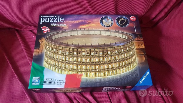 3D Ravensburger puzzle Colosseo