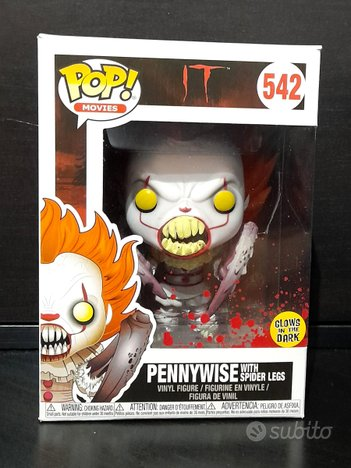 Funko PopIt Penny Wise with spider legs #542 Glow