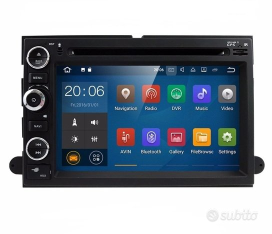 Stereo android 10 per ford f150 mustang edge