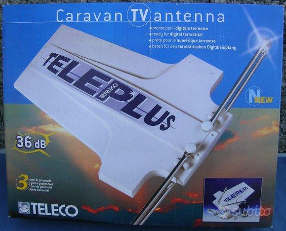 TELECO Antenna TV per Camper Barca Camion =NUOVA=