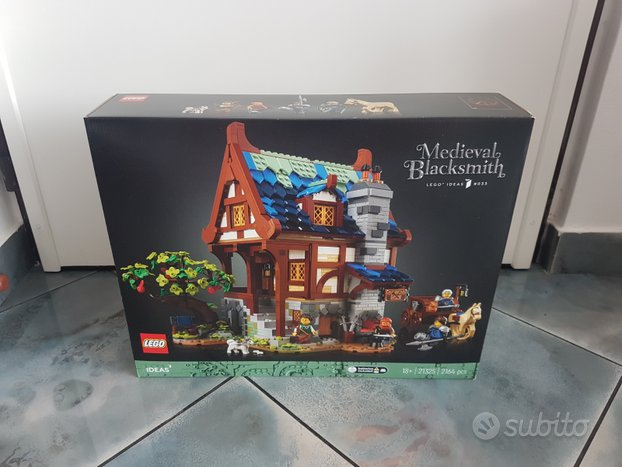 Lego Ideas 21325 Medieval Blacksmith nuovo MISB