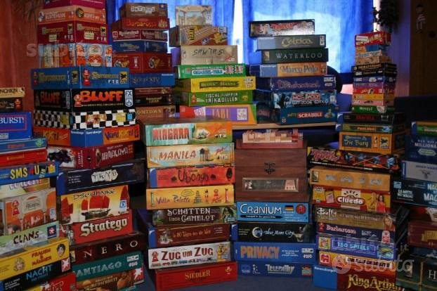 Giochi da Tavolo nuovi e Anni 80