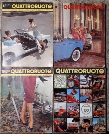 Quattroruote 1963 1964 1965 1966 1967 1968 1969
