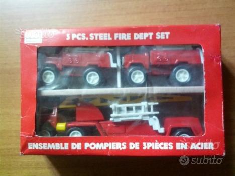 Set modellini dei pompieri + camion Matchbox